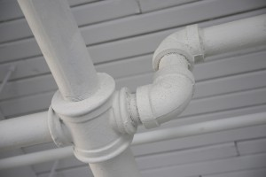 Using PVC pipes to reduce risk of freezing